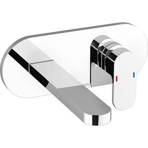 Смеситель для раковины Ravak Chrome CR 019.00 (X070093) luxury curved spout washbasin faucet widespread waterfall dual handle bathroom mixer taps chrome finished