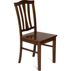Стул TetChair CT 8162 с твёрдым сиденьем / Тёмный Дуб классический стул tetchair ст 8162