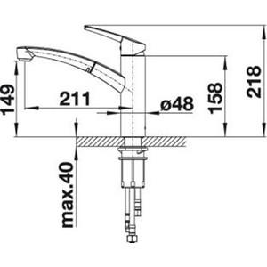 Смеситель для кухни Blanco Nea-S (520305) от ТЕХПОРТ