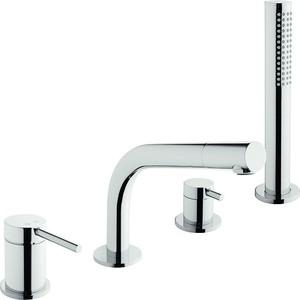 Смеситель на борт ванны Vitra Pure (A41270EXP) смеситель для ванны vitra aquaheat термостат a47015exp