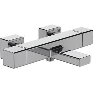 Термостат для ванны Jacob Delafon Strayt (E9127-CP) смеситель для ванны термостат коллекция salute e71085 cp двухвентильный хром jacob delafon якоб делафон