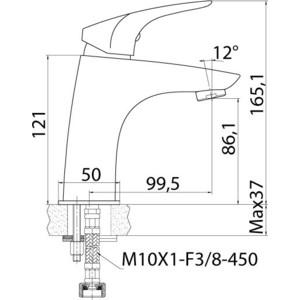 Смеситель для раковины Edelform Flor (FR1800) от ТЕХПОРТ