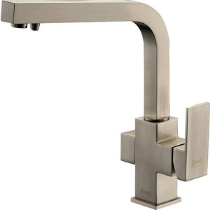 Смеситель для кухни ZorG Clean Water (ZR 311 YF-Nickel) смеситель дл кухни zorg stone zr 370 y crema nickel