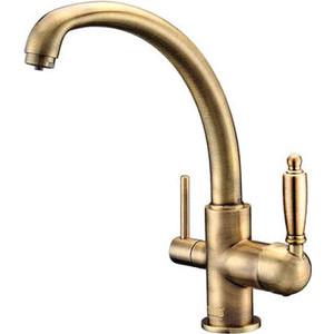 Смеситель для кухни ZorG Clean Water (ZR 315 YF-33 BR) смеситель zorg zr 329 yf ch