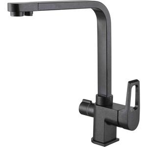 Смеситель для кухни ZorG Clean Water (ZR 334 YF Черный металлик)