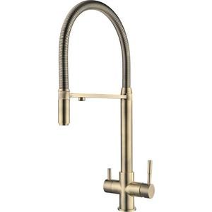 Смеситель для кухни ZorG Clean Water (ZR 337 YF Bronze)