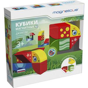 Magneticus Магнитные Кубики-животные, 8 элементов (BLO-001-01) настольная игра magneticus магнитные цикады шар sm 20bl