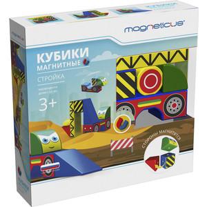 Magneticus Магнитные Кубики-техника, 8 элементов (BLO-001-02) настольная игра magneticus магнитные цикады шар sm 20bl