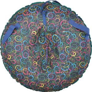 Тюбинг Mars (оболочка, камера) Цветные завитки, D80 см 80005-4