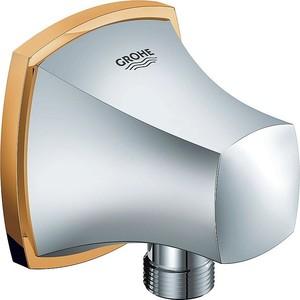 Подключение для шланга Grohe Grandera (27970IG0) полотенцедержатель grohe grandera кольцо 40630000