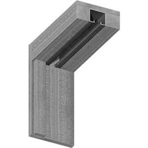 Коробка VERDA МДФ для складной двери однопольной комплект Дуб беленый (2037х70х26-2шт 965х70х26-1шт)