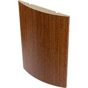Наличник VERDA МДФ полукруглый облицованный шпоном 2140х65х12 мм (5 шт) Макоре наличник verda мдф полукруглый шпон 2140х70х16 мм комплект 5 шт кофе