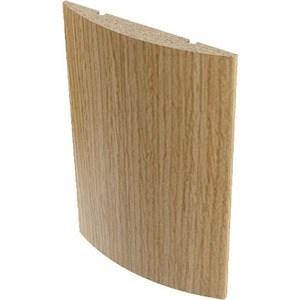 Наличник VERDA МДФ полукруглый облицованный шпоном 2140х65х12 мм (5 шт) Дуб наличник verda мдф полукруглый шпон 2140х70х16 мм комплект 5 шт кофе
