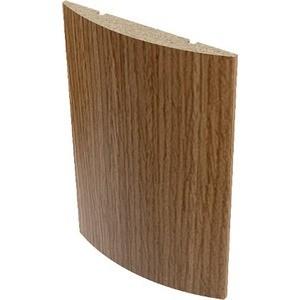 Наличник VERDA МДФ полукруглый облицованный шпоном 2150х70х10 мм (5 шт) Орех наличник verda мдф полукруглый шпон 2140х70х16 мм комплект 5 шт кофе