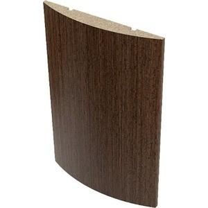 Наличник VERDA МДФ полукруглый облицованный шпоном 2140х70х10 мм (5 шт) Венге наличник verda мдф полукруглый шпон 2140х70х16 мм комплект 5 шт кофе