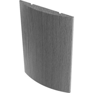 Наличник VERDA МДФ полукруглый эмаль 2140х65х12 мм (комплект 5 шт) Слоновая кость