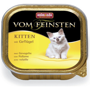Консервы Animonda Vom Feinsten Kitten с мясом домашней птицы для котят 100г (83449)
