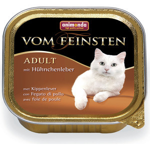 Консервы Animonda Vom Feinsten Adult с куриной печень дл кошек 100г (83443) new in stock ve j62 iy vi j62 iy