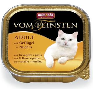 Консервы Animonda Vom Feinsten Adult с мясом домашней птицы и пастой для кошек 100г (83851)