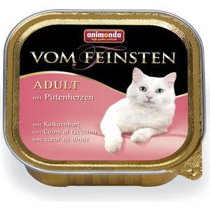 Консервы Animonda Vom Feinsten Adult с сердцем индейки для кошек 100г (83438)