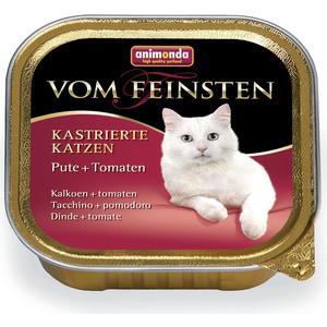Консервы Animonda Vom Feinsten for Castrated Cats с индейкой и томатами для стерилизованных кошек 100г (83854)
