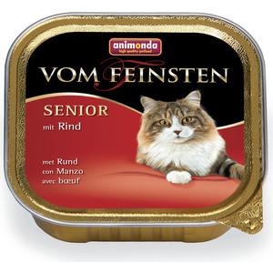 Консервы Animonda Vom Feinsten Senior с говядиной для пожилых кошек 100г (83857)