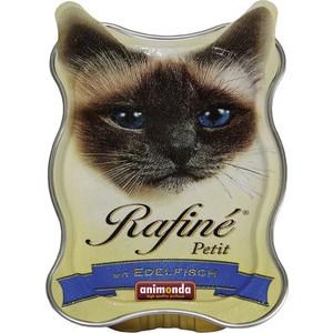 Консервы Animonda Rafine Petit паштет из деликатесной рыбы для кошек 85г (83472)