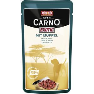 Паучи Animonda GranCarno Exotic с мясом буйвола для собак 125г (82785)