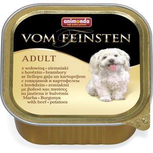 Консервы Animonda Vom Feinsten Adult с говядиной и картошкой для собак 150г (82968)