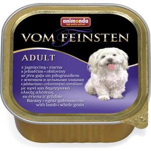 Консервы Animonda Vom Feinsten Adult с ягненком и цельными злаками для собак 150г (82969)