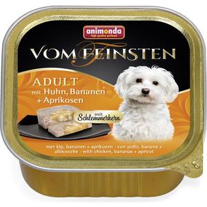 Консервы Animonda Vom Feinsten Adult меню для гурманов с курицей, бананом и абрикосами для привередливых собак 150г (82645)