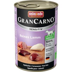Консервы Animonda Vom Feinsten Gran Carno Sensitiv c ягненком для собак с чувствительным пищеварением 400г (82412)