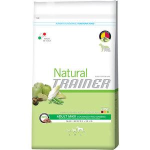 Сухой корм Trainer Natural Maxi Adult Beef, Rice&Ginseng с говядиной, рисом и женьшенем для собак крупных пород 3кг