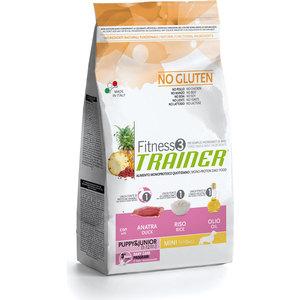 Сухой корм Trainer Fitness3 No Gluten Mini Puppy&Junior Duck&Rice с уткой и рисом для щенков и юниоров мелких пород 2кг велотренажер spirit fitness xbr25 2017