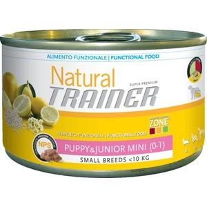 Консервы Trainer Natural Mini Puppy&Junior для щенков и юниоров мелких пород 150г корм сухой ontario puppy mini для щенков мелких пород с ягненком и рисом 750 г