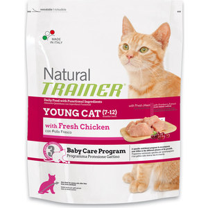Сухой корм Trainer Natural Young Cat для молодых кошек от 7 до 12 месяцев 1,5кг