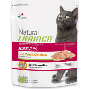Сухой корм Trainer Natural Adult Fresh Chicken со свежим мясом курицы для кошек 1,5кг