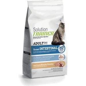Сухой корм Trainer Solution Sensintestinal With Fresh White Meats с белым мясом для кошек с чувствительным пищеварением 1,5кг