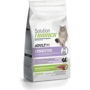 Сухой корм Trainer Solution Sensitive With Duck с уткой для кошек чувствительных и склонных к аллергии 1,5кг rod stephens c 24 hour trainer