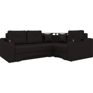 Угловой диван АртМебель Комфорт-5 правый, весь - Легенда коричневый диван угловой артмебель комфорт правый 3
