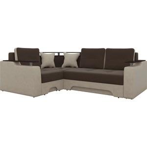 Угловой диван АртМебель Комфорт-06/49 левый угловой диван артмебель андора ткань правый