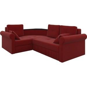 Угловой диван АртМебель Юта-09 левый угловой диван артмебель андора ткань левый
