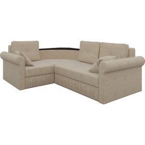 Угловой диван АртМебель Юта-49 левый угловой диван артмебель андора ткань левый