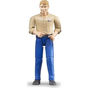 Bruder Фигурка мужчины голубые джинсы (60-006)