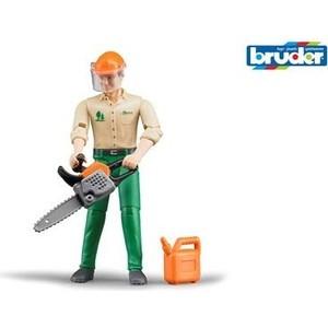 Bruder Фигурка лесозаготовщика с аксессуарами (60-030)