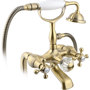 Смеситель для ванны Timo Nelson (1914Y-CR antique) бронза душевая система timo nelson для ванны хром sx 1290 00 chrome