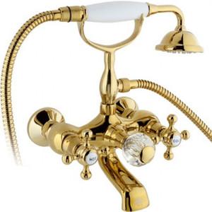 Фото - Смеситель для ванны Timo Nelson (1914Y-CR gold) золото блок питания accord atx 1000w gold acc 1000w 80g 80 gold 24 8 4 4pin apfc 140mm fan 7xsata rtl