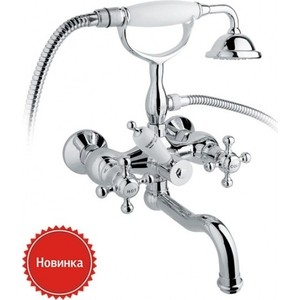 Смеситель для ванны Timo Nelson (1944YCR) хром смеситель для ванны коллекция monarch 0085y двухвентильный хром timo тимо