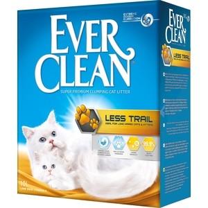 Наполнитель Ever Clean Less Trail комкующийся с ароматизатором для длинношерстных кошек 10л