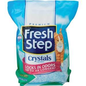 Наполнитель Fresh Step Fresh Step Crystals - впитывающий силикагель для кошек 1,81кг